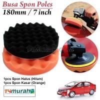 "Busa Poles Mobil&Motor Sponge Polishing Set 7"""