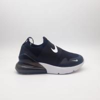 Sepatu Nike Airmax 270 Slip On Kids/Sepatu Anak/Black White