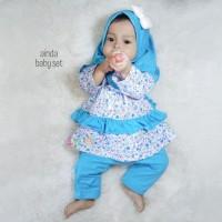 Ainda Baju Muslim Anak Perempuan Bayi dan Balita