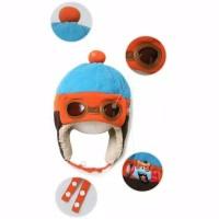 Topi Hangat Bayi Ala Pororo the PILOT Korean Baby Fashion Hat