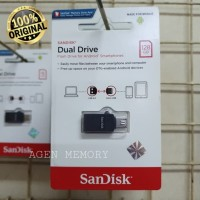SANDISK FLASHDISK USB 2.0 OTG 128GB Dual Drive