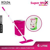 BOLDe Super Mop Maxima & BOLDe Sabun Pembersih Lantai