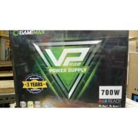 GAMEMAX PSU VP700 RGB - 700 Watt 80+ Effeciency 80% 12cm Fan RGB