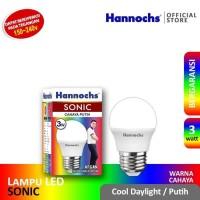 Hannochs SONIC LED Bulb 3 Watt - Bola Lampu Bohlam LED 3 Watt