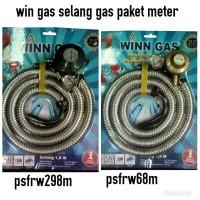 selang gas plus regulator winn gas