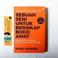 Buku Sebuah Seni untuk Bersikap Bodo Amat karya Mark Manson