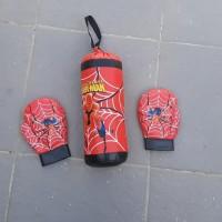 Set sarung tangan tinju anak/sasak tinju anak/olahraga tinju anak