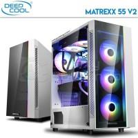 DEEPCOOL GAMING CASES MATREXX 55 V2 + 3xFan DEEPCOOL RF120B/R