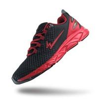 Sepatu Eagle Scope Hitam Merah – Running Shoes