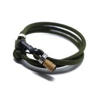Gelang Mini Carabiner - Paracord Bracelet Simple Casual - 06