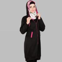 Jaket Hijab Polos Wanita