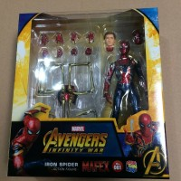 Mafex 081 Iron Spider-Man Spiderman Marvel Avengers Infinity War