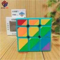 Rubik Mirror Yongjun Inequilateral 3x3x3 Cyan Colour Amory Cubes