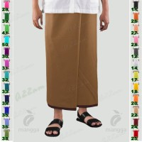 Sarung MANGGA M35-0 Kain Tenun Polos Warna Original