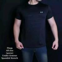 Baju Kaos sport underarmour underarmor gym fitness polos UAA TRP