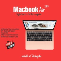 "Apple MacBook Air 2019 13"" 128GB 1.6GHz MVFM2 MVFH2 with TouchID"