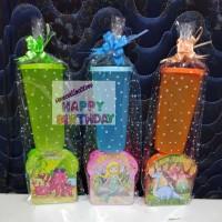 Paket souvenir ulang tahun kotak makan dan gelas