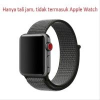 Wakaka Sport Loop Strap Apple watch 42mm - Deep Olive Murah