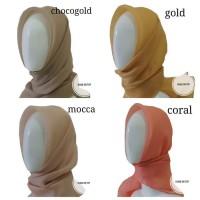 Jilbab / Hijab / Kerudung Organza Silk Premium!!! - Putih