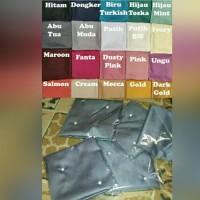 Hijab Kerudung Segiempat Velvet Maxmara Pearl Mutiara