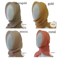 Jilbab / Hijab / Kerudung Organza Silk Premium!!!