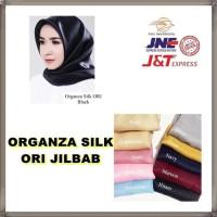 Organza Silk Ori Jilbab Instan Hijab Instan Pakaian Wanita