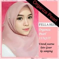 Hijab Organza Pearl Mutiara Termurah Premium