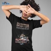 Custom Tshirt Led Led Zeppelin The Hermit - Hitam, XS