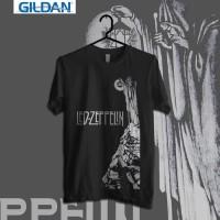 Custom Tshirt Led Zeppelin Joe Walsh Pretty Things - Putih, XS