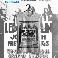 Custom Tshirt Led Zeppelin Air Balloon - Hitam, XS