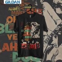 Custom Tshirt Led Zeppelin Physical Graffiti Album - Putih, S