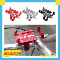 GUB G-81 Aluminium Alloy Bracket Holder Hp Clamp Stang Sepeda