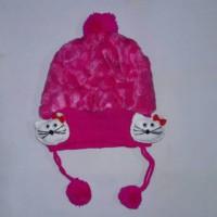 TERLARISS Topi anak bayi putri balita halus lembut hangat