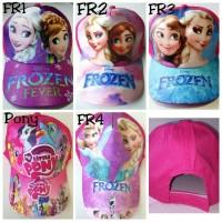 TERLARISS Topi Anak Karakter Frozen Sofia Princess dan Masha