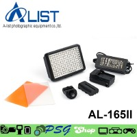 Video Light LED A-LIST AL-165II Lampu Video Kamera Alist 165 II d