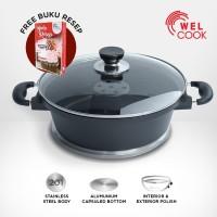 Welcook Cetakan Kue Alumunium Baking Pan