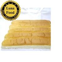 Roti John Jumbo 40cm isi 5pcs Roti Lembut dan Gurih