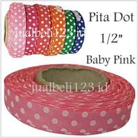 Pita Motif Dot 1/2 inch atau 1.25cm