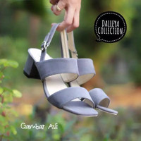 PINGKAN- Dalleya sepatu sandal wanita pump heels tinggi casual cantik