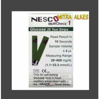 Glucosa Test Strip NESCO. BloodGlucose e. Strip Gula Darah NESCO.