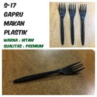 Garpu Makan Plastik / Garpu Takeaway / Garpu Kue - BAHAN TEBAL ISI 100