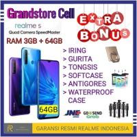 REALME 5 RAM 3/64 GB GARANSI RESMI REALME INDONESIA