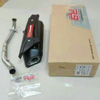 Knalpot R9 MISANO New Vario 125 Fi Black Series / Knalpot Racing Vario