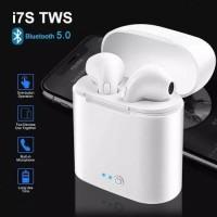 Airpods apple Handsfree Earphone Bluetooth Wireless HBQ I7 TWINS Pair