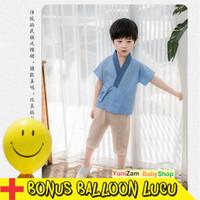 PROMO Hanfu suit Termurah model korea /Setelan anak laki model korea