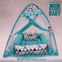 Baby Nest kotak Kelambu - Trivia tosca