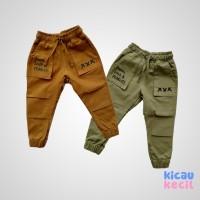 Little Jack Pants – Keanu Pant – Yellow Tan, dusty green