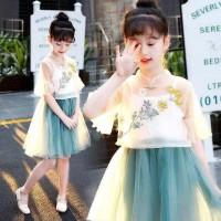 cheongsam anak/baju imlek /dress anak
