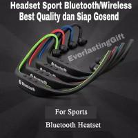 Earphone Sport Wireless Streo Headphone Terlariss !!!