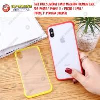CASE FUZE MACARON PREMIUM CASE IPHONE 11 / IPHONE 11 PRO / 11 PRO MAX